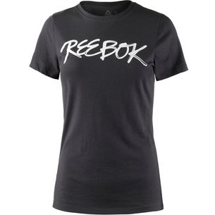 Reebok Graphic Series Script T-Shirt Damen coal