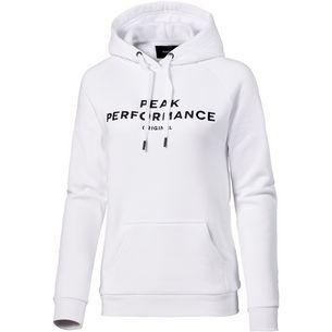 Peak Performance Logo Hoodie Damen white