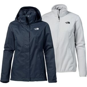 The North Face EVOLVE II Doppeljacke Damen URBAN NAVY/TIN GREY