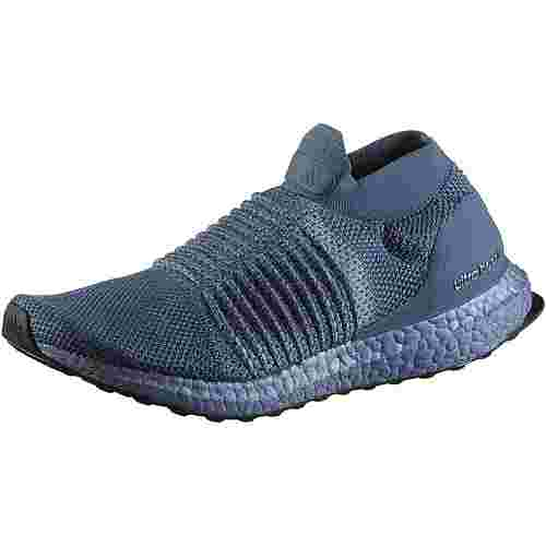 adidas UltraBoost Laceless Laufschuhe Damen tech-ink-raw-grey-core-black