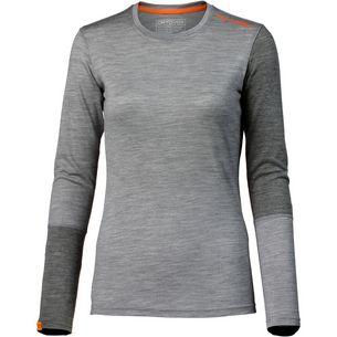 ORTOVOX 185 Rock`n`Wool Merino Funktionsshirt Damen grey blend
