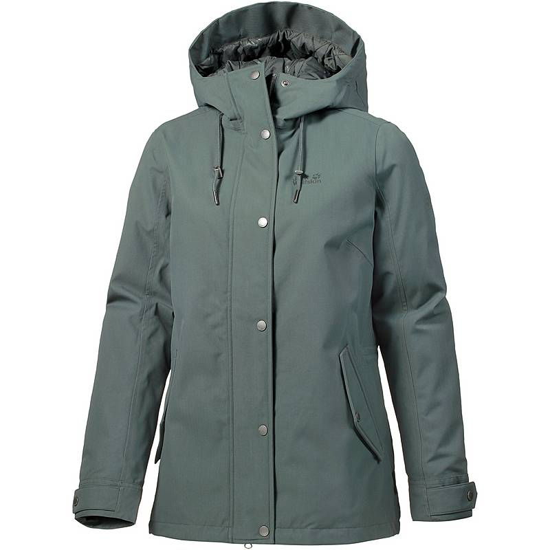 716f5a9d988d Jack Wolfskin Mora Funktionsjacke Damen greenish grey im Online Shop ...
