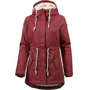 Ragwear Monadis Regenjacke Damen wine red