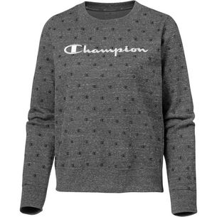 CHAMPION Sweatshirt Damen dark grey melange