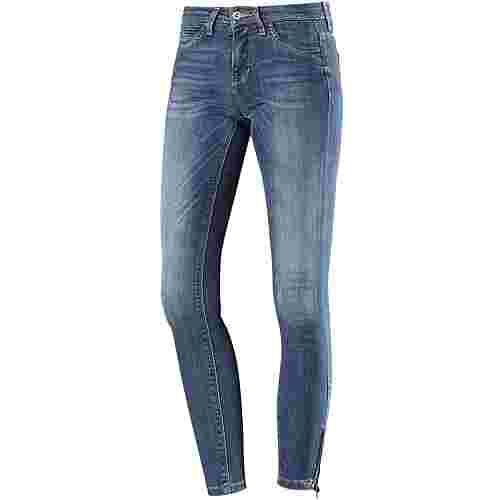Only Kendell Skinny Fit Jeans Damen medium blue denim