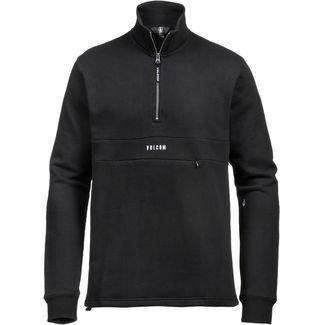 Volcom Rixon Mock Sweatshirt Herren black