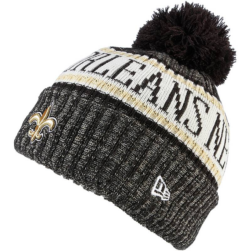 New Era New Orleans Saints Beanie black im Online Shop von ... f9bec0bab4f