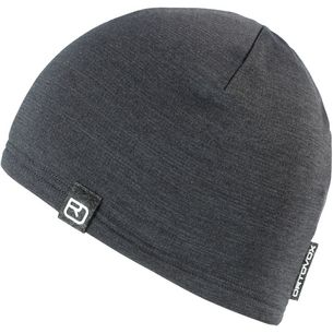 ORTOVOX Fleece Light Beanie dark grey blend