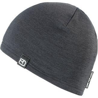 ORTOVOX Fleece Light Merino Beanie dark grey blend