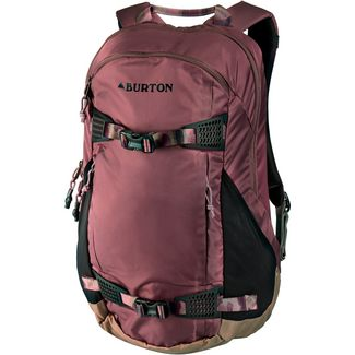 Burton Rucksack Daypack Damen rose brown flight satin