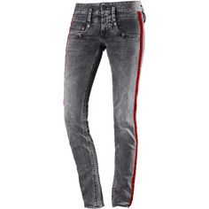 Herrlicher Pitch Skinny Fit Jeans Damen darkness