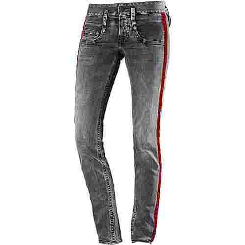 Herrlicher Pitch Skinny Fit Jeans Damen darkness im Online Shop von SportScheck kaufen
