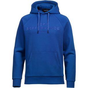 Peak Performance Logo Hoodie Herren island blue