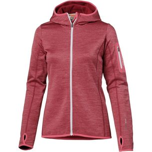 ORTOVOX Fleece Melange Fleecejacke Damen dark blood blend