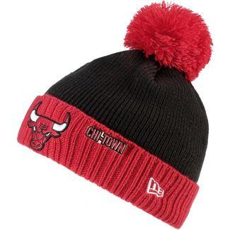 New Era Chicago Bulls Beanie black-red