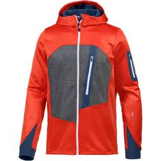 ORTOVOX Fleece Loden Fleecejacke Herren crazy orange