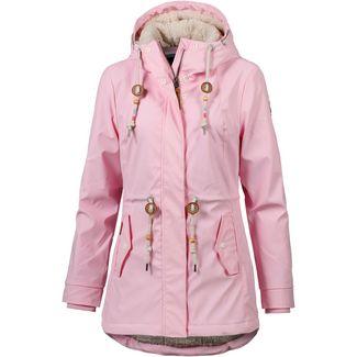 Ragwear Monadis Regenjacke Damen pink