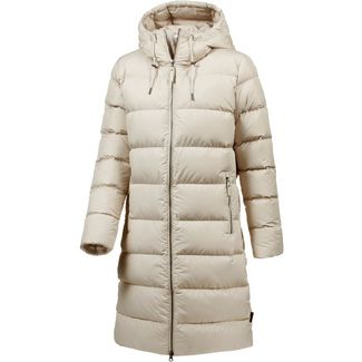 Jack Wolfskin Crystal Palace Daunenmantel Damen dusty grey