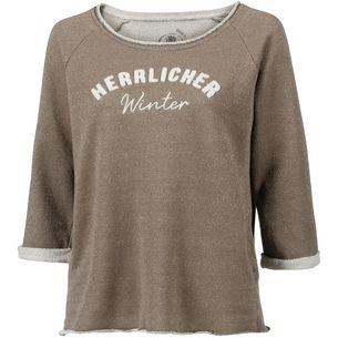 Herrlicher Benice Sweatshirt Damen gold