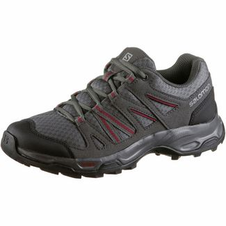 Salomon Redwood Wanderschuhe Damen quiet shade-magnet-beet red
