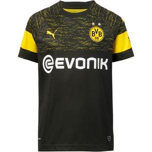 PUMA Borussia Dortmund 18/19 Auswärts Fußballtrikot Kinder puma black