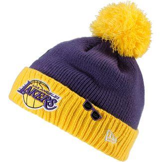 New Era Los Angeles Lakers Beanie blue-yellow