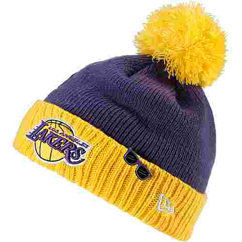 New Era Los Angeles Lakers Beanie blue-yellow