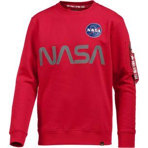 Alpha Industries Sweatshirt Herren speed red