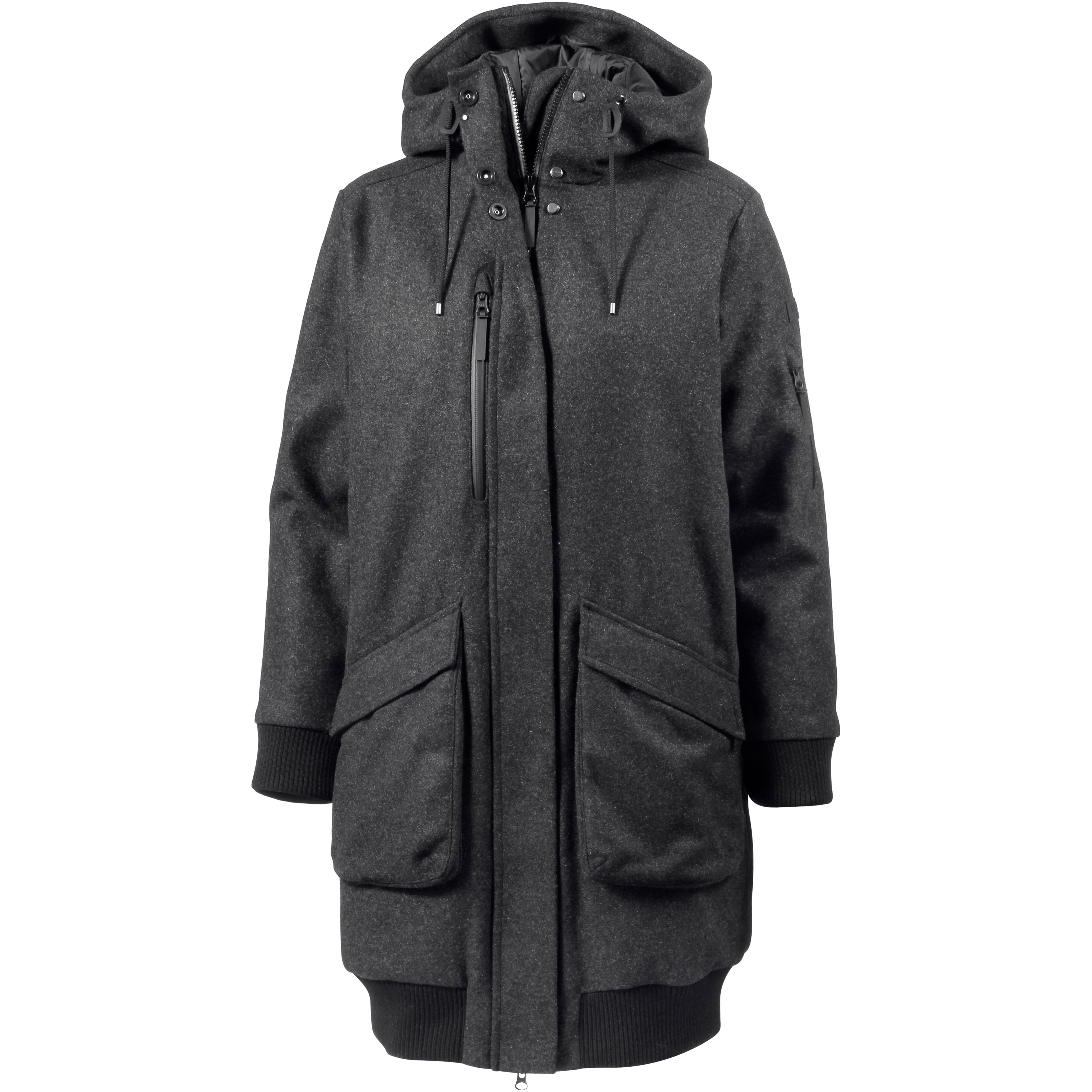 Damen mantel jack wolfskin damen