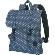 Enter Daypack navy-white polkadot
