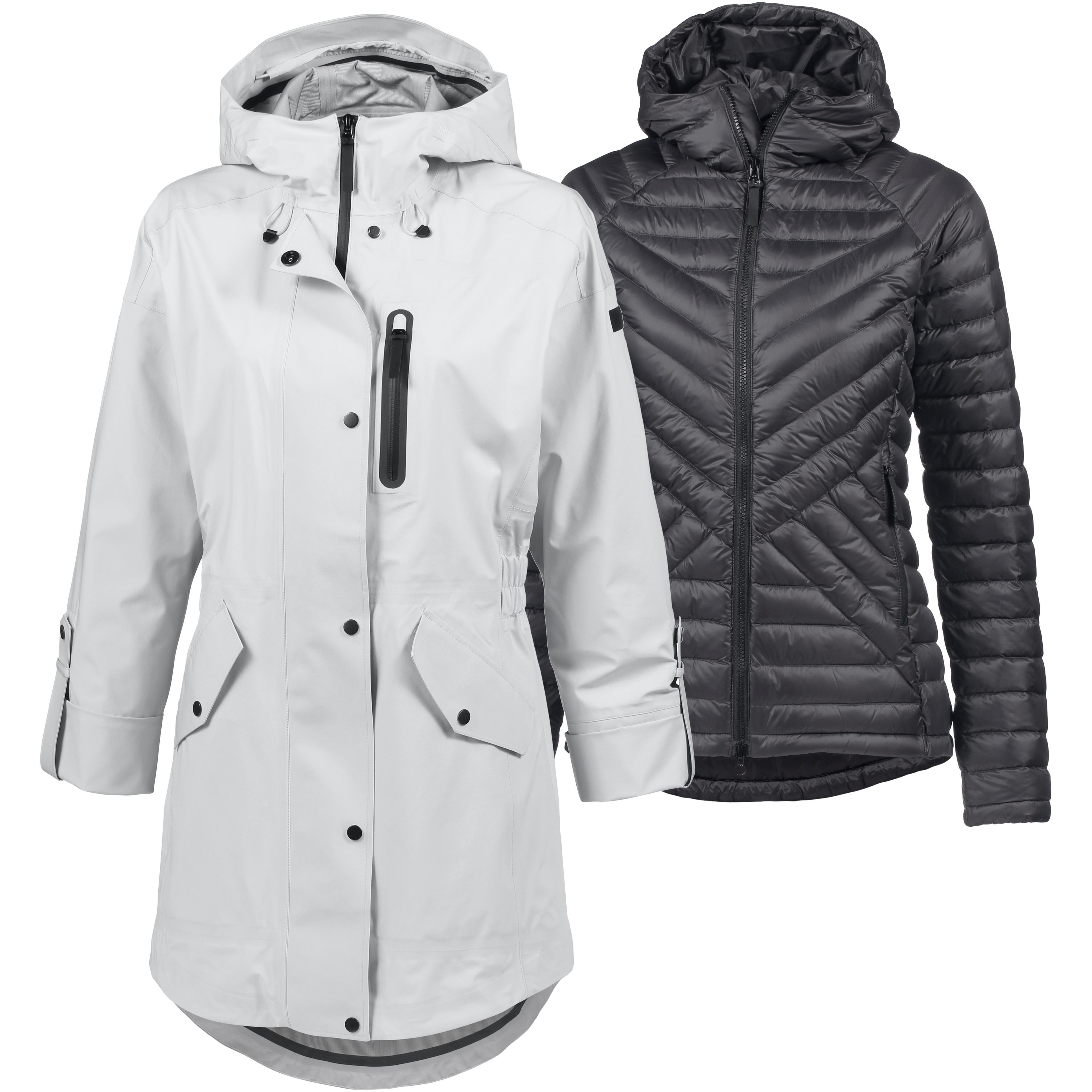 Jack Wolfskin Providence Doppeljacke Damen grey haze im Online Shop von SportScheck kaufen