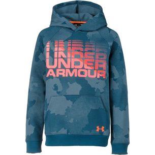 Under Armour Sweatshirt Kinder techno teal-magma orange