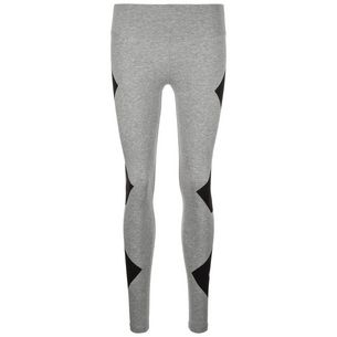 CONVERSE Star Chevron Leggings Damen grau / schwarz