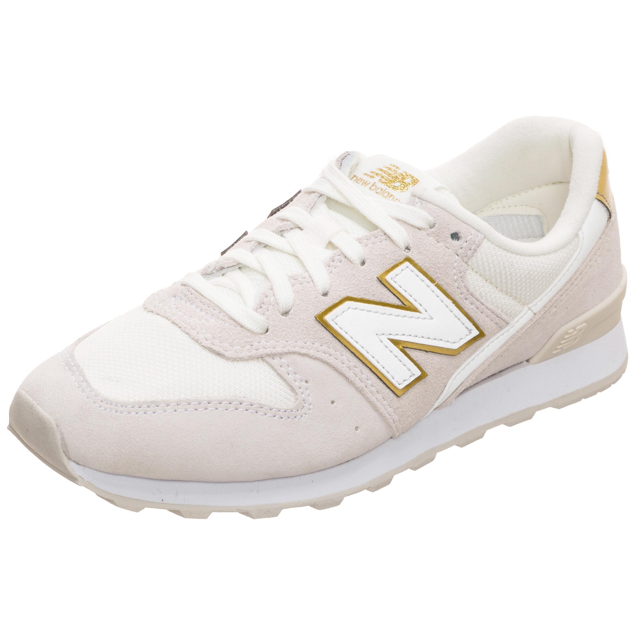 brand new a77c2 b6878 NEW BALANCE WR996-FSM-D Sneaker Damen beige / gold im Online Shop von  SportScheck kaufen