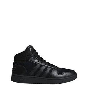 adidas Hoops 2.0 Mid Basketballschuhe Herren Core Black / Core Black / Core Black