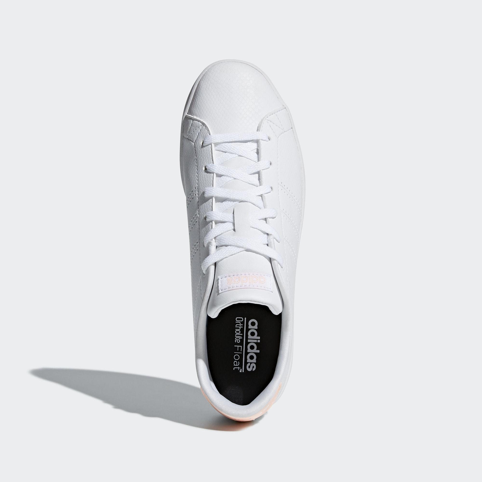 Adidas Advantage Clean QT / Turnschuhe Damen Ftwr Weiß / QT Ftwr Weiß / Clear Orange im Online Shop von SportScheck kaufen Gute Qualität beliebte Schuhe 30c830