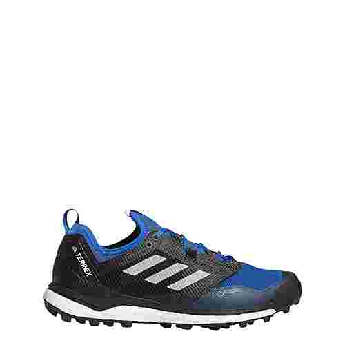 adidas TERREX Agravic XT GTX Wanderschuhe Herren Core Black / Grey One / Blue Beauty