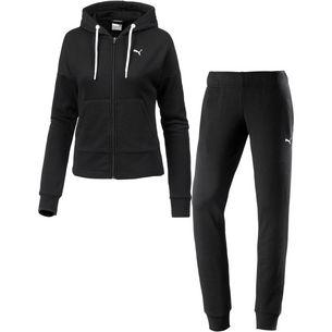 PUMA Classic Trainingsanzug Damen cotton black-puma black