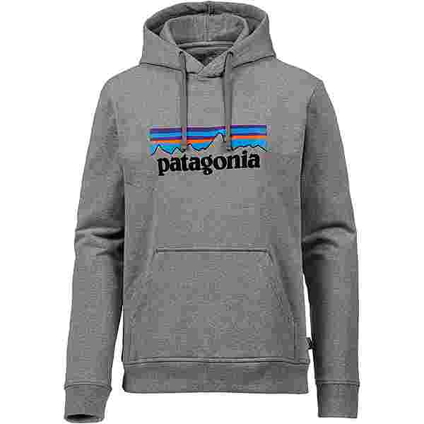 Patagonia P-6 Logo Hoodie Herren gravel heather