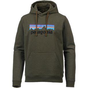 Patagonia P-6 Logo Hoodie Herren sediment