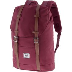 Herschel Retreat Mid-Volume Daypack Damen windsor wine-tan synthetic leather