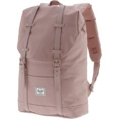 Herschel Retreat Mid-Volume Daypack Damen ash rose-ash rose rubber