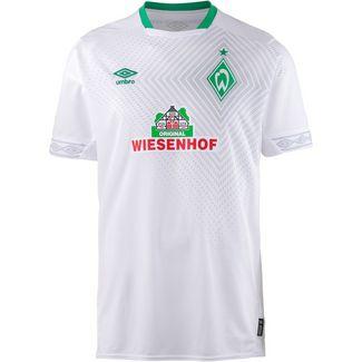 UMBRO Werder Bremen 18/19 3rd Fußballtrikot Herren brilliant white-golf green