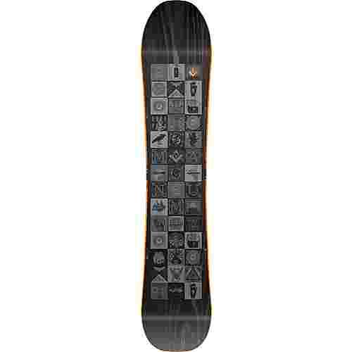 Nitro Snowboards Magnum All-Mountain Board Herren schwarz-gelb