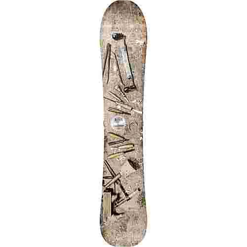 Nitro Snowboards Woodcarver All-Mountain Board Herren braun