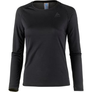 Odlo Active F Merino Funktionsshirt Damen black