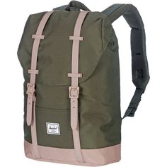 Herschel Retreat Mid-Volume Daypack Damen forest night-ash rose
