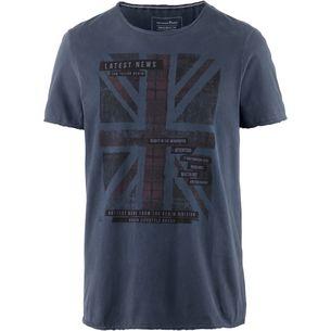 TOM TAILOR T-Shirt Herren sky captain blue