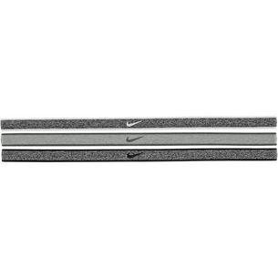 Nike Haarband Damen black heathered/dk grey heathered/dk grey heather