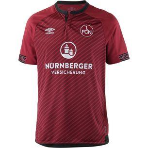 UMBRO 1. FC Nürnberg 18/19 Heim Fußballtrikot Herren biking red-black-cabernet